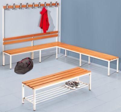 Garderobenbank - ohne Lehne, HxT 420 x 400 mm