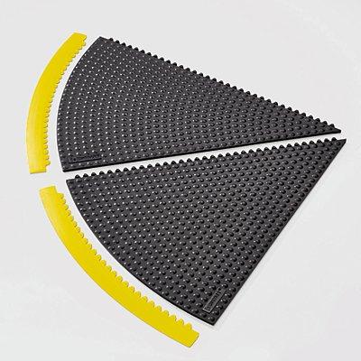 Notrax Auffahrkante für 45°-Winkel-Matte - Radius 910 mm