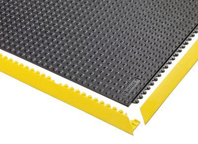 Bodenplatten-Stecksystem - LxB 910 x 910 mm - schwarz