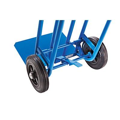 EUROKRAFT Transportkarre mit Pendelfunktion - Tragfähigkeit 350 kg