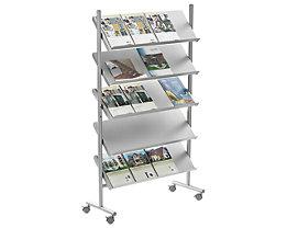 Présentoir de prospectus - capacité 20 x format A4
