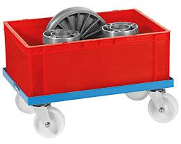 EUROKRAFT Universal-Fahrgestell - mit Polyamidrädern, Tragfähigkeit 250 kg