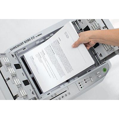 IDEAL Grand destructeur de documents SHREDCAT - capacité 30 l - h x l x p 520 x 444 x 360 mm