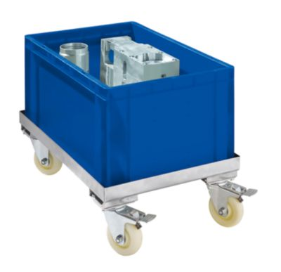 Fahrgestell aus Edelstahl - Tragfähigkeit 250 kg