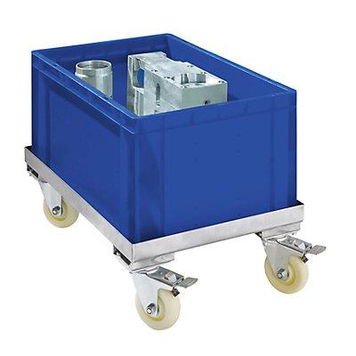Fahrgestell aus Edelstahl - Tragfähigkeit 150 kg