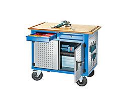 Fachboden, MDF-Platte - LxB 1040 x 665 mm, für Montagewagen