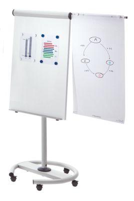 Flipchart, mobil - multifunktionsfähig - Höhe 1900 mm