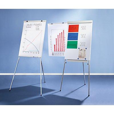 Smit Visual Flip-Chart - höhenverstellbar mit Teleskopbeinen