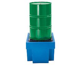 PE-Auffangwanne mit PE-Rost - 1 x 200-Liter-Fass