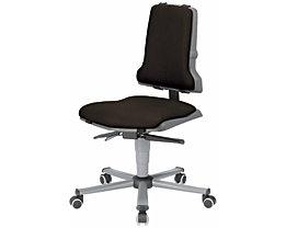 Polster - VE = je 1 Polster für Sitz und Rückenlehne - Textil-Polster, schwarz
