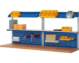 RAU System-Stützensatz - 4 System-Stützen, für Werktisch-Breite 2500 mm