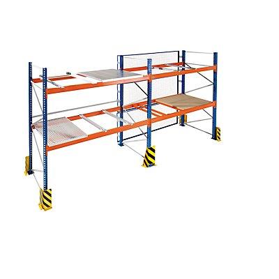 Schulte Container-Auflagen, verzinkt - für Stützrahmen-Tiefe 1100 mm, 1 Paar, für Auflageträger-Breite 50 mm