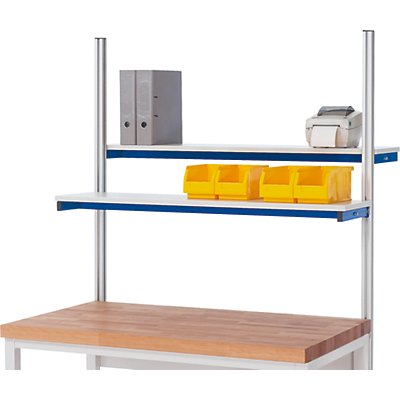 RAU Etagenbord für Arbeitstisch - Tragkraft 30 kg