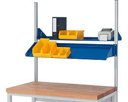 RAU Metallablage - Tragkraft 30 kg, für Feldbreite 2000 mm