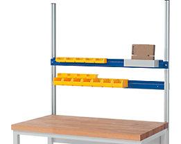 RAU Halteschiene - für Sichtlagerkasten, für Feldbreite 750 mm