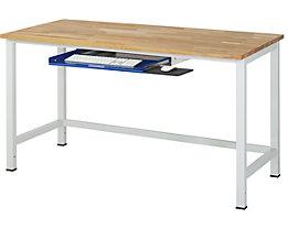 RAU Tastaturauszug - für Arbeitstisch, BxTxH 640 x 485 x 85 mm