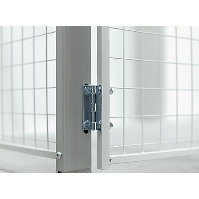 Axelent Eckverbinder für X-STORE-Trennwandsystem - variabel - VE 2 Stk