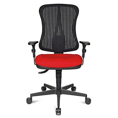 Topstar si ge de bureau ergonomique assise galb e sans accoudoirs - Siege sans dossier ergonomique bureau ...