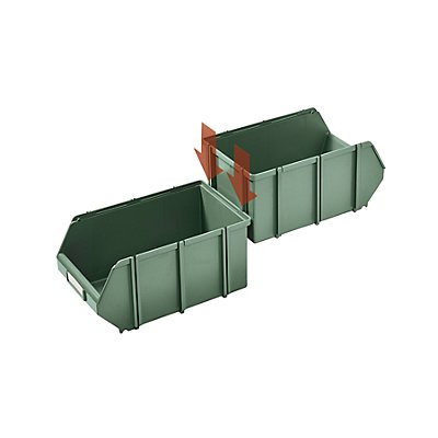Terry Sichtlagerkasten, selbsttragend - LxBxH 500 x 307 x 190 mm