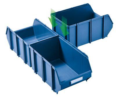 Sichtlagerkasten, selbsttragend - LxBxH 500 x 307 x 190 mm