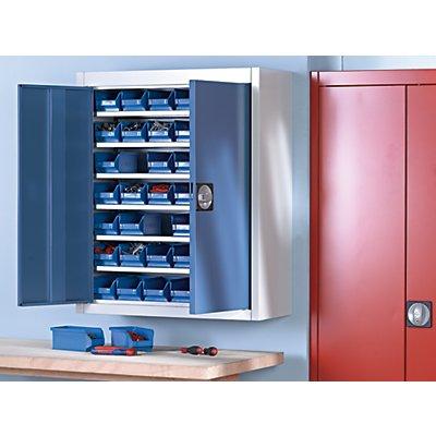 mauser Magazinschrank, zweifarbig - HxBxT 820 x 680 x 280 mm, mit Sichtlagerkästen