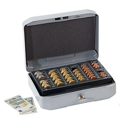 Durable Geldkassette Design-Version - 8 Münzfächer, 4 Geldscheinfächer