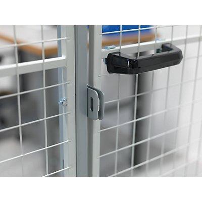 Axelent Vorhängeschloss-Vorrichtung - für Schiebetür - Einzeltür
