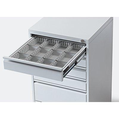 Schubladen-Einteilungs-Set - für Schubladenschrank, für Schubladenhöhe 100 mm