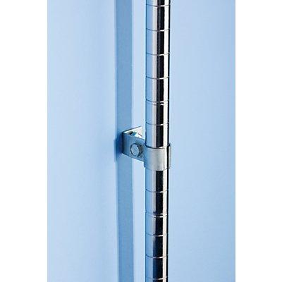 Wandbefestigung - für Gitterregal, VE 4 Stk