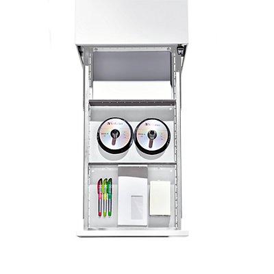 Verteilerblech - VE 2 Stk - für Roll- und Standcontainer
