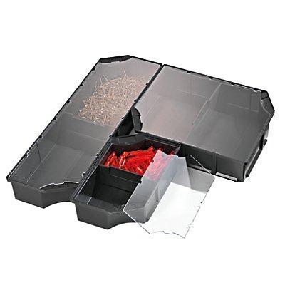 Godet de compartimentation, polypropylène - hauteur 80 mm