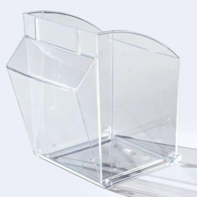 Klappkasten-Kombination aus Polystyrol - HxBxT 685 x 600 x 185 mm