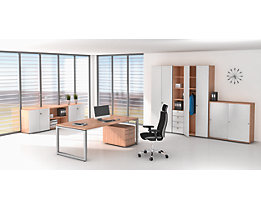 office akktiv ANNY Vestiaire - 2 tablettes, 1 tringle