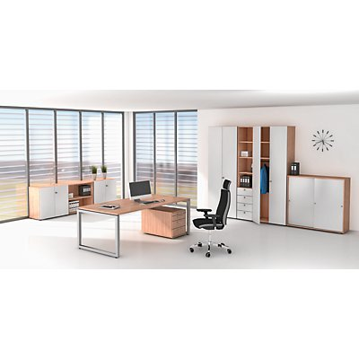 office akktiv Büroregal - 5 Fachböden, HxBxT 2156 x 400 x 400 mm