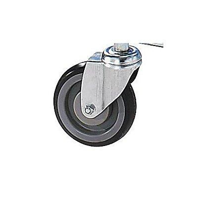Chariot de manutention universel avec roues bandage caoutchouc force 300 kg - Roue caoutchouc chariot ...