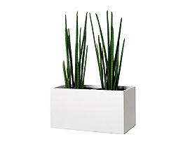 Pflanzengefäß - kniehoch, für 2 Pflanzen