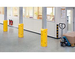 Säulen- und Pfostenschutz - aus Polyethylen, gelb