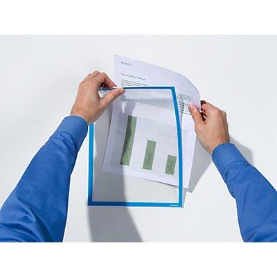 Infotaschen für Adhäsionshaftung - DIN A4, BxH 225 x 312 mm