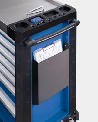Dokumentenbox - für Werkzeugwagen, schwarz