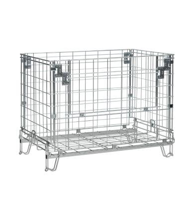 Gitter-Faltbox - LxB 1150 x 800 mm, Nutzhöhe 770 mm, Höhe 910 mm