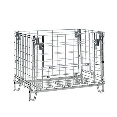 Italfil Gitter-Faltbox - LxB 1150 x 800 mm, Nutzhöhe 770 mm, Höhe 910 mm