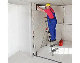 Schwerlast-Sicherheitsleiter - belastbar bis 225 kg