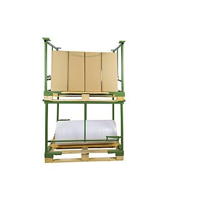 Stapel-Klemmbügel - Bügelbreite 800 mm, 1 Paar, Nutzhöhe 800 mm