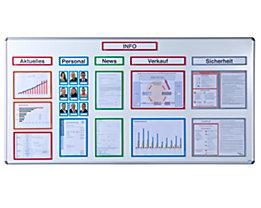 office akktiv Magnetische Infotasche - DIN A3, BxH 312 x 435 mm