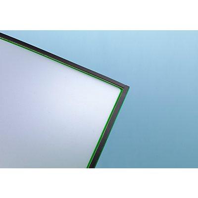 OFFICE AKKTIV Magnetische Infotasche - Fototasche, BxH 60 x 80 / 60 x 17 mm, VE 20 Stk
