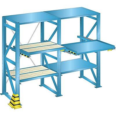 Lista Stahlblech-Kopfboden - BxT 890 x 1260 mm, Fachlast 100 kg