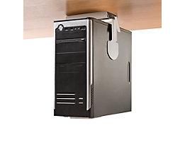 CPU-Halter - Untertischmontage, Tragfähigkeit 25 kg