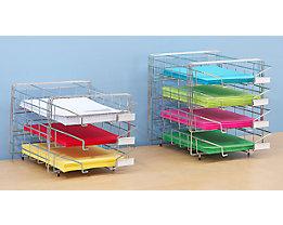 Stahldraht-Korb-Sortierablage - Tischmodell