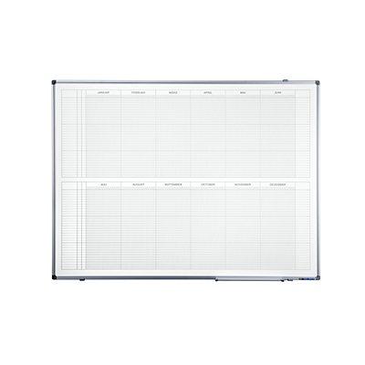 Jahresplaner - BxH 1200 x 900 mm, Version DE, mit 365-Tage-Einteilung