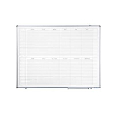Jahresplaner - BxH 1200 x 900 mm, Version FR, mit 365-Tage-Einteilung